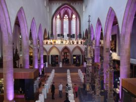 Kirchenschiff – Historisches Museum Basel – Barfüsserkirche