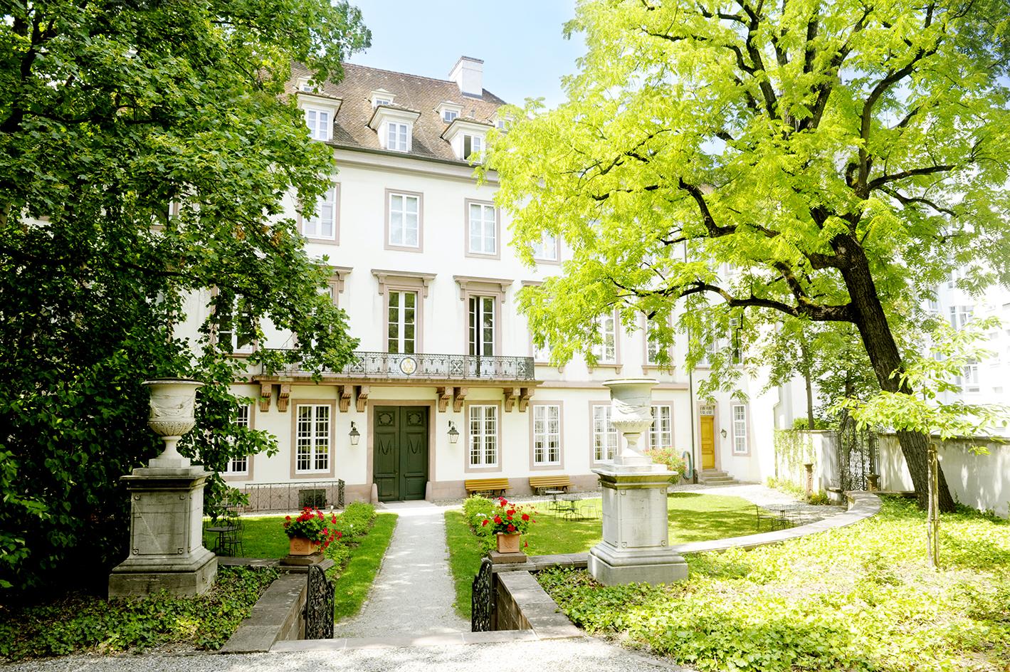 Garten - Historisches Museum Basel – Haus zum Kirschgarten