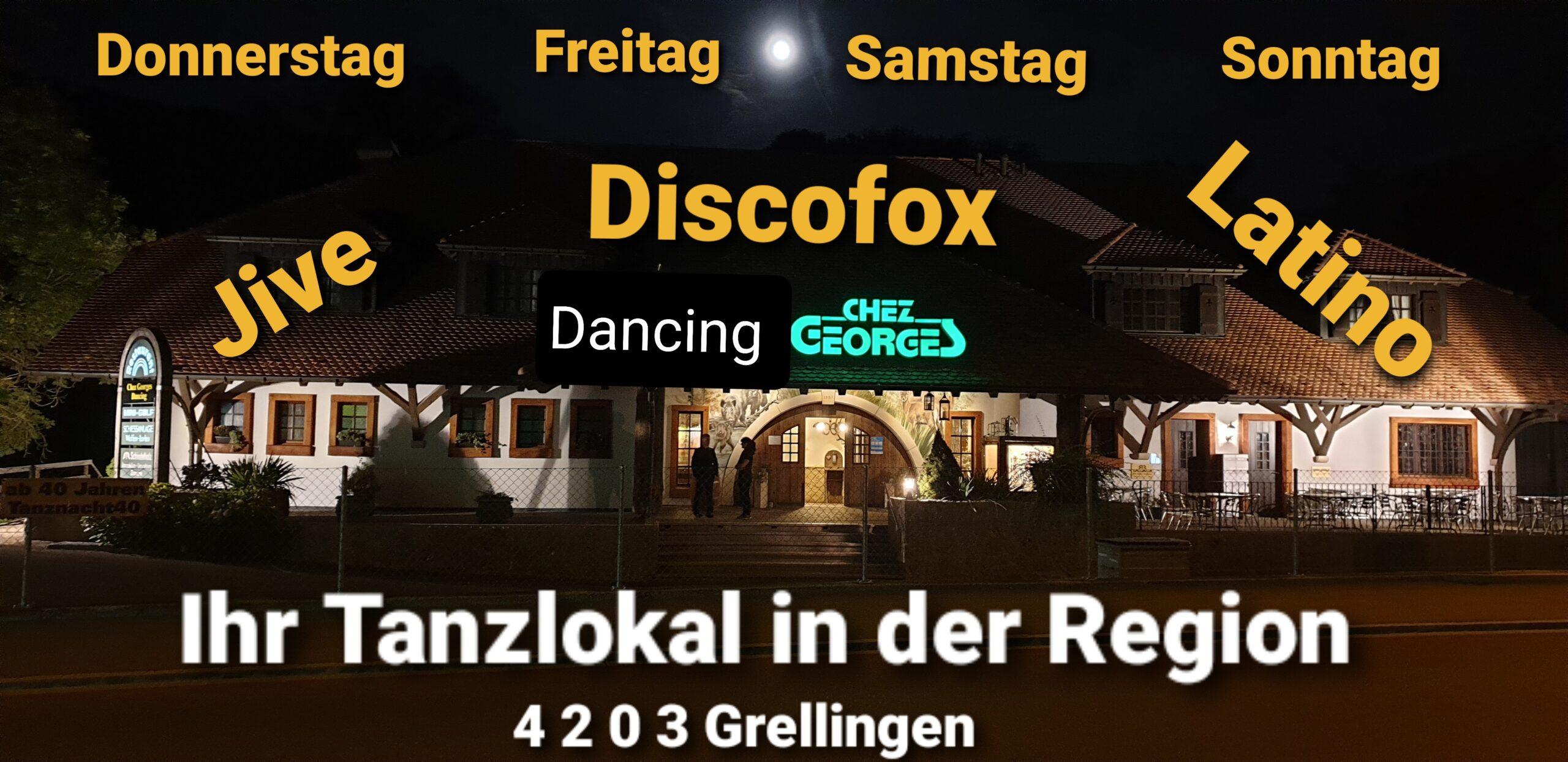 Restaurants und Tanzlokal