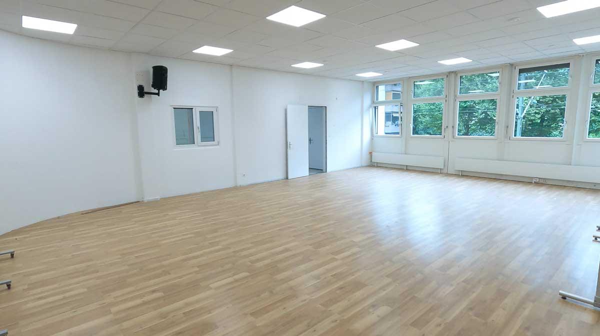 Studio 2,  Raum für Kurse